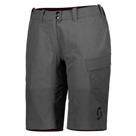 Scott TRAIL FLOW W/PAD W šedá - Dámské šortky