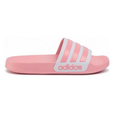 Dámské pantofle adidas Adilette Shower Růžová / Bílá