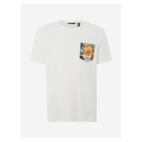 Tričko O'Neill Lm Print T-Shirt Bílá