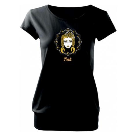 Znamení ženy - Rak CZ (Pecka design) - Volné triko city