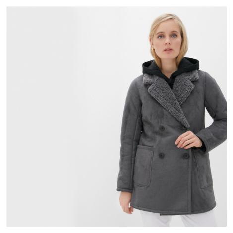Pepe Jeans dámský šedý kabát Patricia
