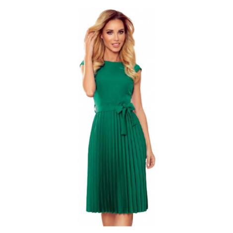 Dámské šaty Numoco 311-3 Lila   zelená