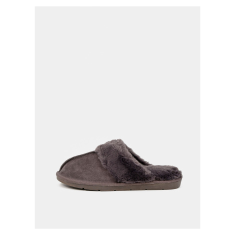 Dorothy Perkins šedé pantofle