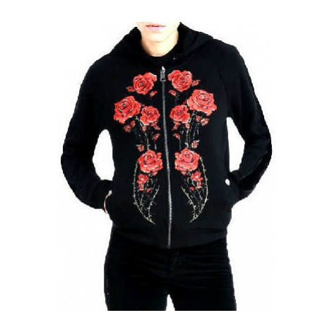 JUST CAVALLI Roses mikina