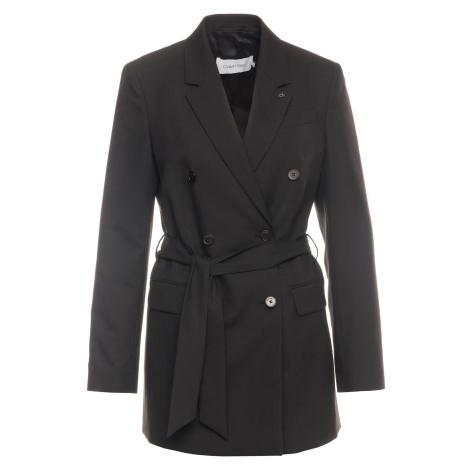Černý krátký kabát - CALVIN KLEIN