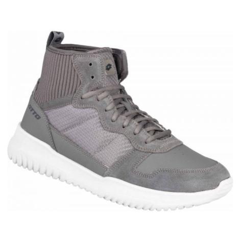 Lotto CITYRIDE AMF RUN II MID šedá - Pánské volnočasové boty