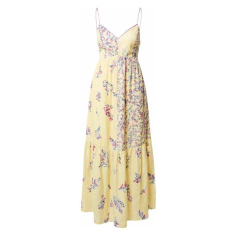 FRENCH CONNECTION Šaty žlutá / pink / fialová / modrá