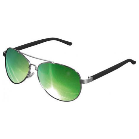 Urban Classics Sunglasses Mumbo Mirror silver/green