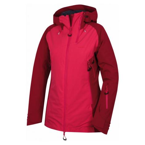 Husky Gambola L, purpurová / růžová Dámská lyžařská plněná bunda
