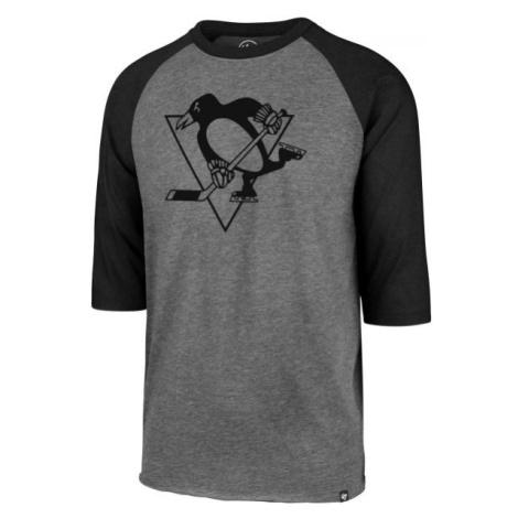 47 NHL PITTSBURGH PENGUINSIMPRINT 47 CLUB RAGLAN TEE černá - Pánské triko