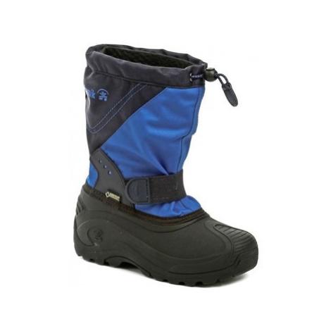 KAMIK SnowtraxG Blue zimní dětské sněhule GORE-Tex Modrá
