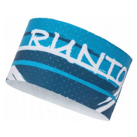 Runto CLAWS modrá - Sportovní čelenka