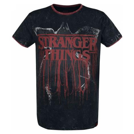 Stranger Things Stranger Things Tričko šedá