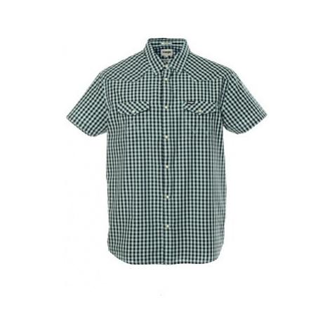 Košile Wrangler SS Western pánská modrá