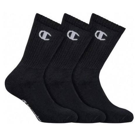 3PACK ponožky Champion černé (Y08QG) L