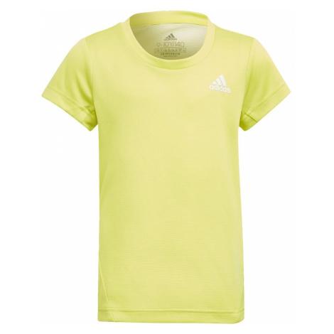 Adidas Tričko AEROREADY 3-Stripes Žlutá