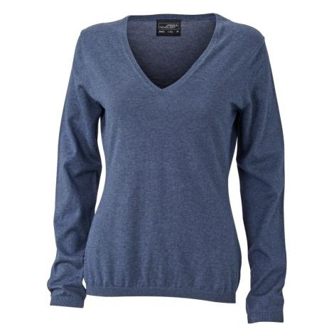 James & Nicholson Luxusní dámský svetr s kašmírem JN663