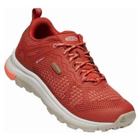 Dámské boty Keen Terradora II WP W cherry mahogany/coral UK