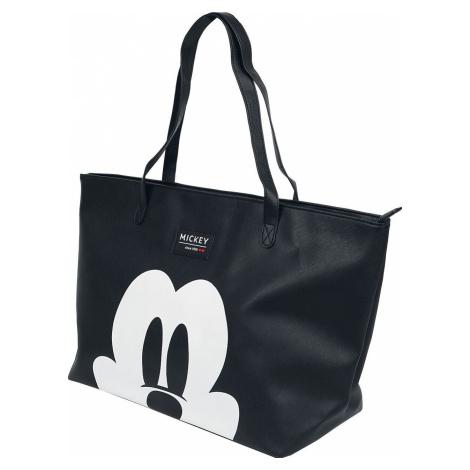 Mickey & Minnie Mouse Micky Nákupní taška cerná/bílá