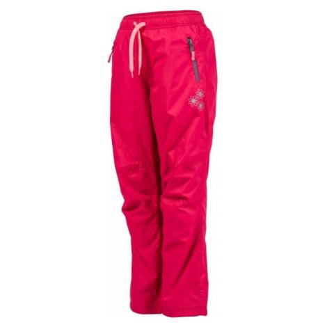 Lewro MILAN růžová - Dětské zateplené kalhoty