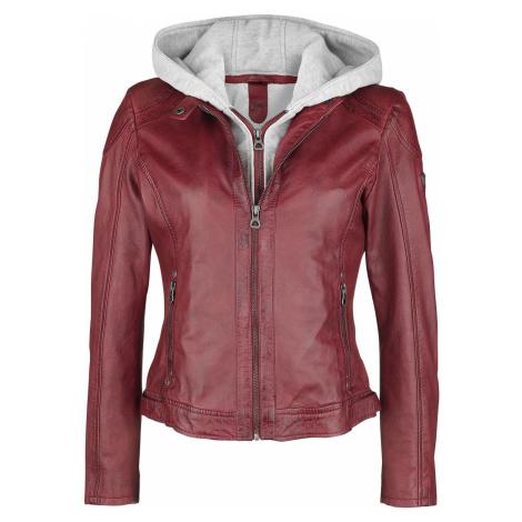 Gipsy Angy S18 LAMAS Dámská kožená bunda červená