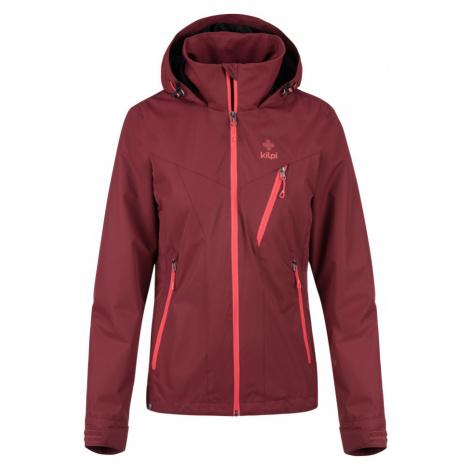 KILPI Dámská outdoorová bunda - větší velikosti ORTLER-W KLX212KIDRD Červená