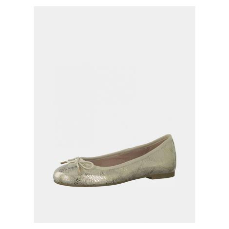 Tamaris zlaté baleríny