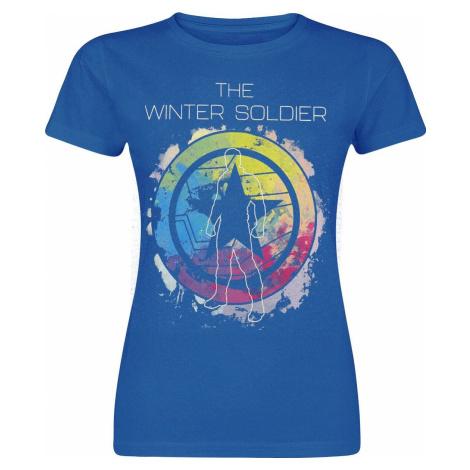 The Falcon And the Winter Soldier The Winter Soldier Dámské tričko smíšená modrá