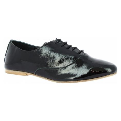 Leonardo Shoes 936-80 NAPLAK NERO Černá