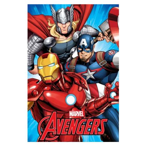 Dětská fleecová deka Avengers | dle fotky