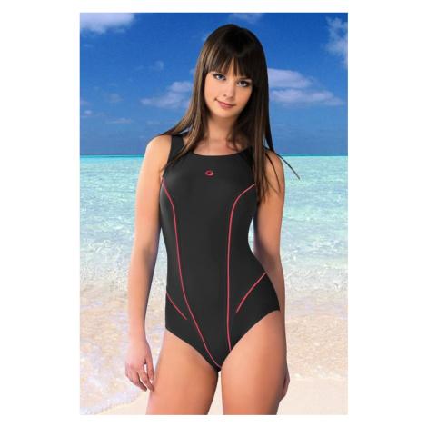 Jednodílné plavky Kayla šedé Winner