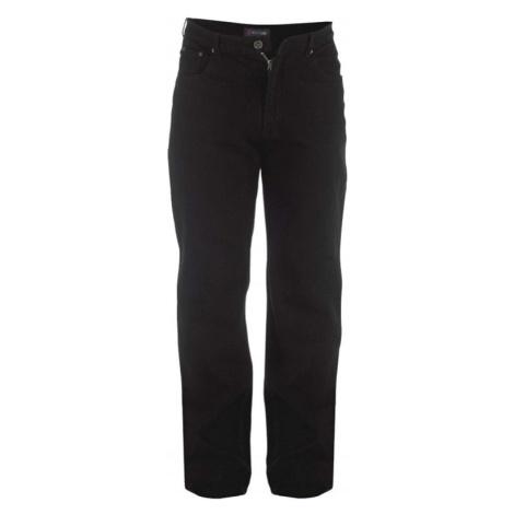 ROCKFORD kalhoty pánské RJ520 COMFORT BLACK L34 Jeans nadměrná velikost