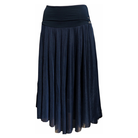 Look Made With Love Woman's Skirt 150 Tiulova Navy Blue