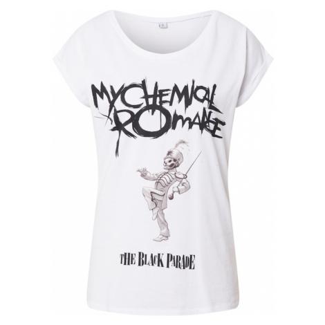 Merchcode Tričko 'My Chemical Romance' bílá / černá