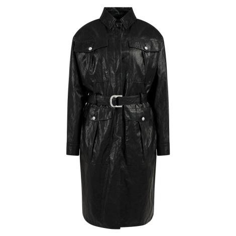 Černý lehký kabát - PINKO