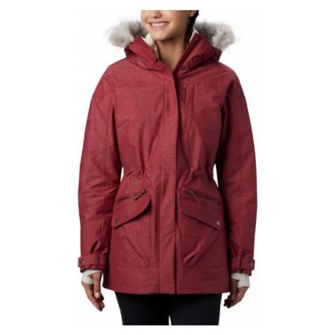 Columbia CARSON PASS IC JACKET vínová - Dámský zimní kabát