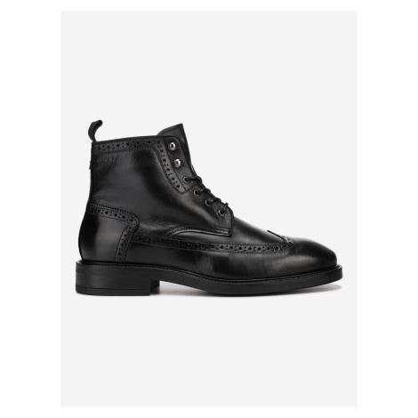 Flairville Mid Kotníková obuv Gant Černá