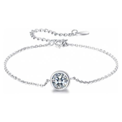 Linda's Jewelry Stříbrný náramek Shiny Eye INR075