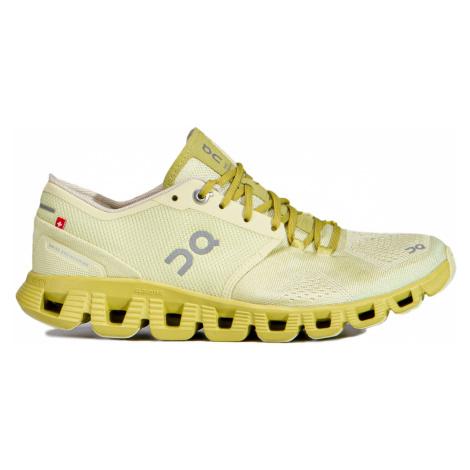 Běžecké boty On Running CLOUD X WOMAN Żółty