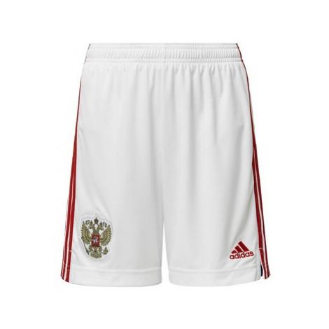 Adidas Domácí šortky Russia Bílá