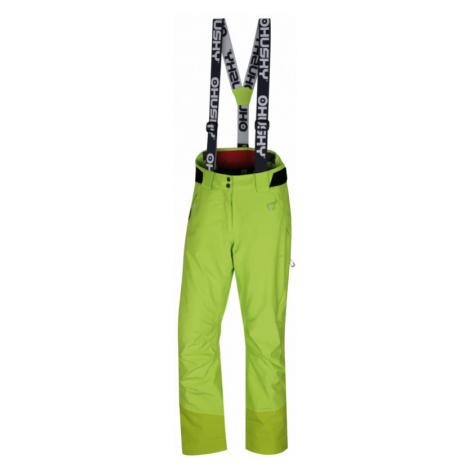 Dámské lyžařské kalhoty HUSKY Mitaly výrazně zelená