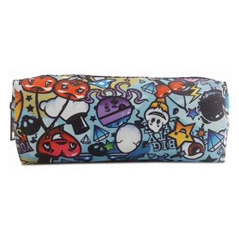 Barevné dětské textilní pouzdro ve stylu graffiti Axel Lulu Bags
