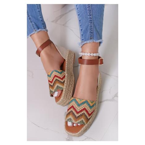 Vícebarevné nízké sandály Melisse Ideal
