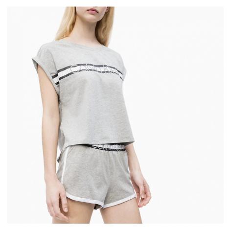 Šedý pyžamový set Lougewear Core+ Calvin Klein