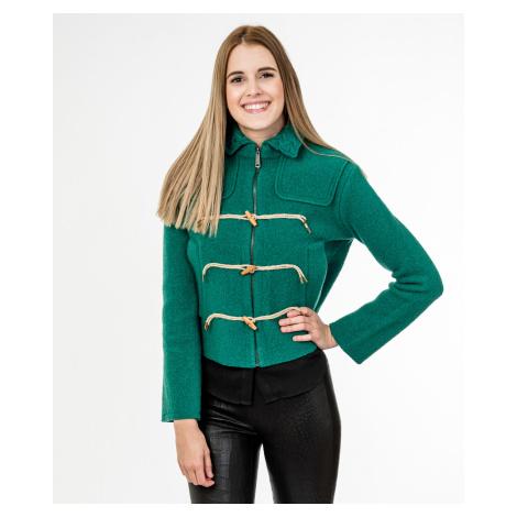 Zelené vlněné sako - DIESEL