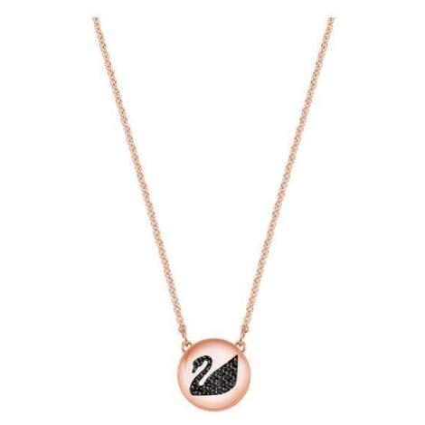 Swarovski Módní náhrdelník s labutí Hall
