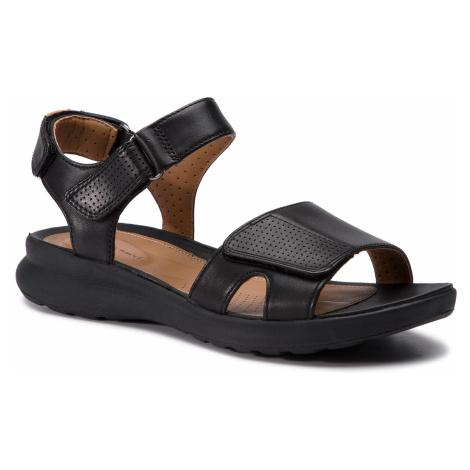 Sandály CLARKS - Un Adorn Calm 261417124 Black Leather