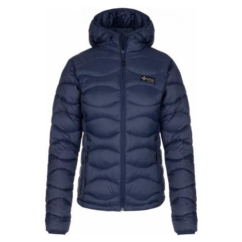 KILPI Dámská zimní bunda - větší velikosti REBEKI-W LLX092KIDBL Tmavě modrá