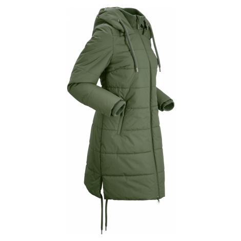 Outdoorový prošívaný kabát