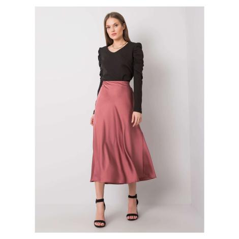 Dusty růžová dámská sukně